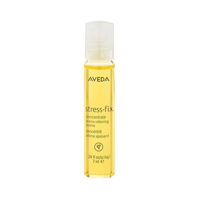 Emma Hoareau travel beauty essentials: Aveda Stress-Fix Concentrate