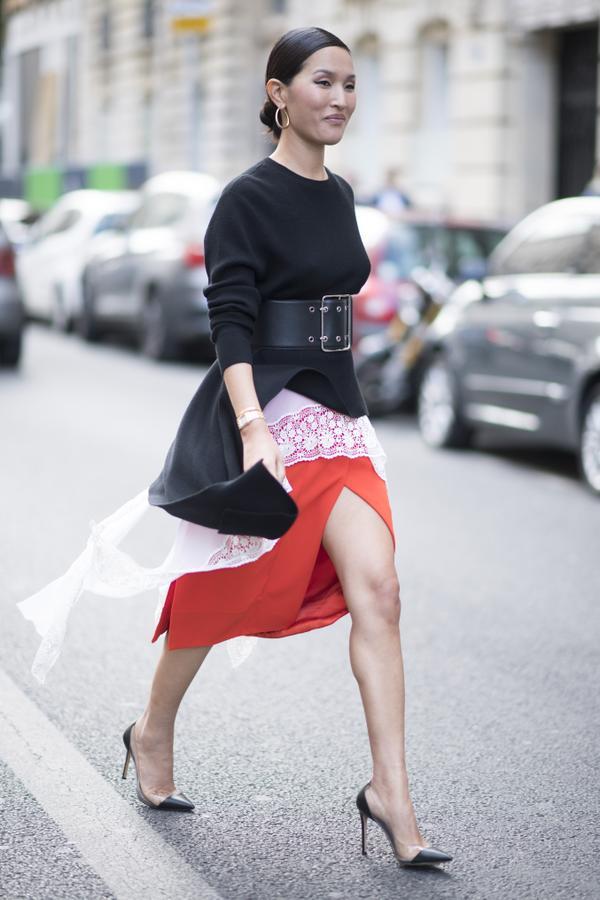 WHO: Nicole Warne WHAT: Paris Fashion Week