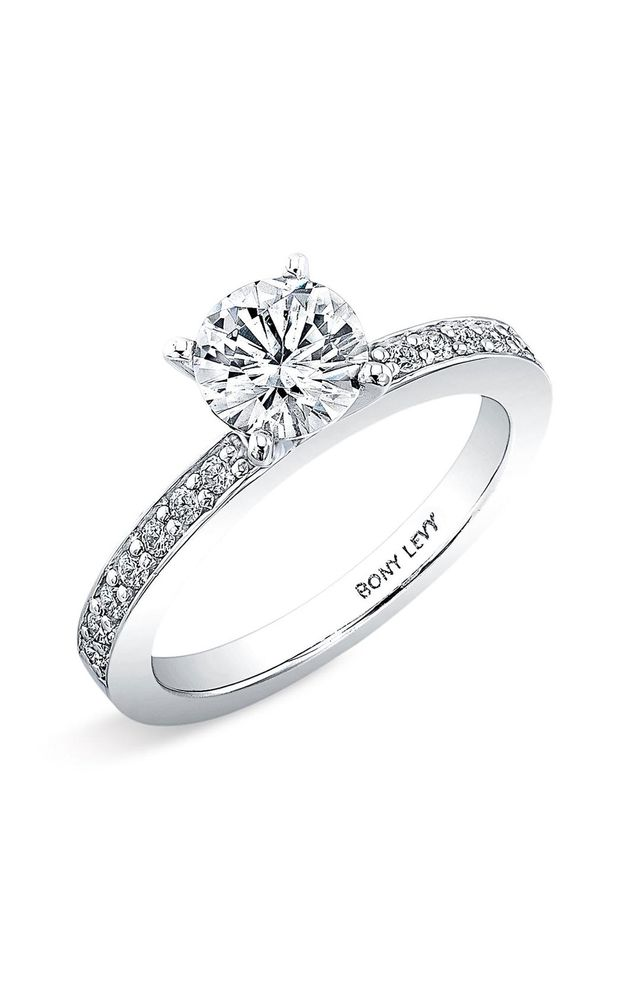 Channel Set Diamond Engagement Ring Setting