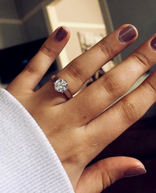 1-carat engagement ring