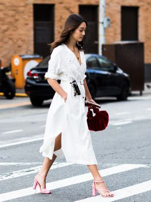 18 Shoes That Look Amazing With a White Dress