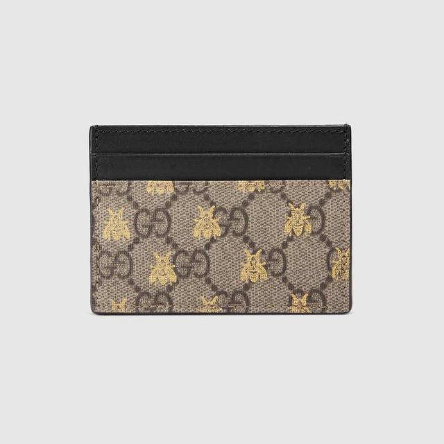 GG Supreme bees card case