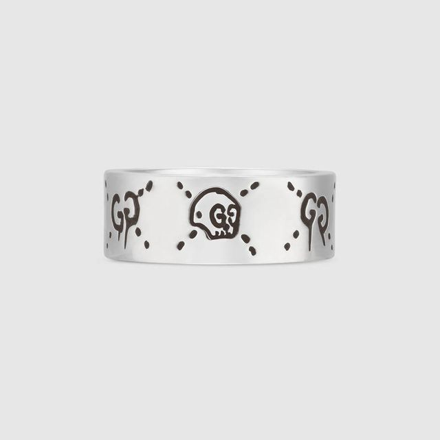 GucciGhost ring in silver