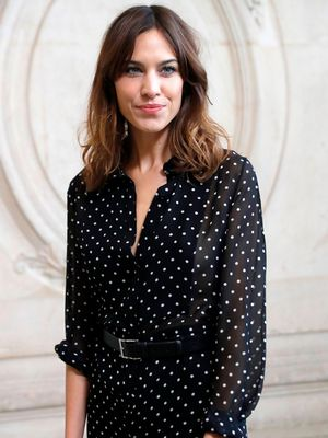 Alexa Chung's Saturday Night Outfit Works Whether You're Staying In or Going Out