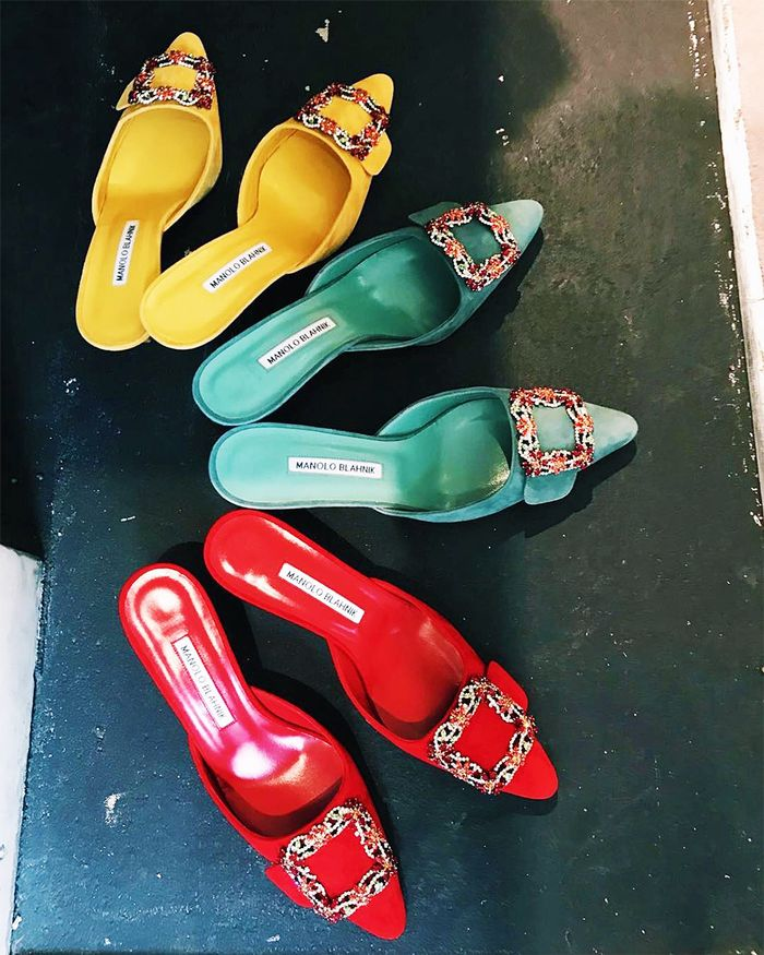 Manolo Maysale Mules: Traffic Light Colours Photographed by And Finally