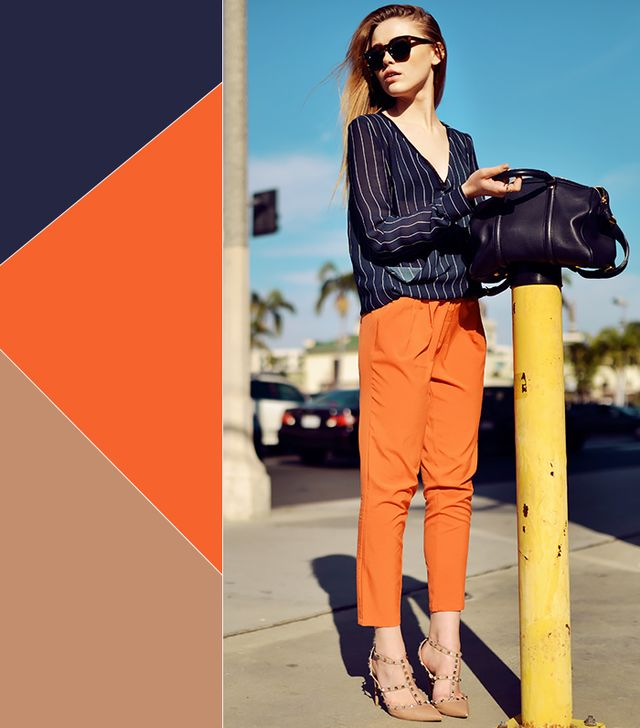 Stylish color combinations for spring