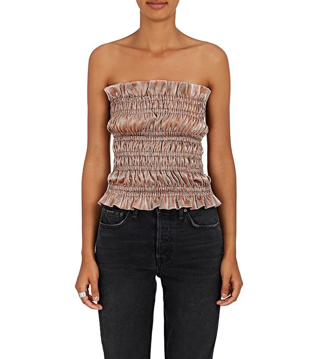 Women's Lamé Tube Top