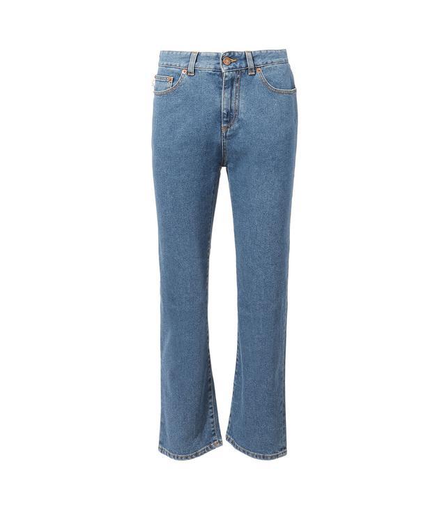 Fiorucci Yves Slim Crop Jeans Denim-Drk 26