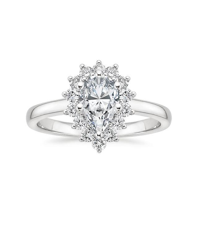 Brilliant Earth Sunburst Diamond Ring
