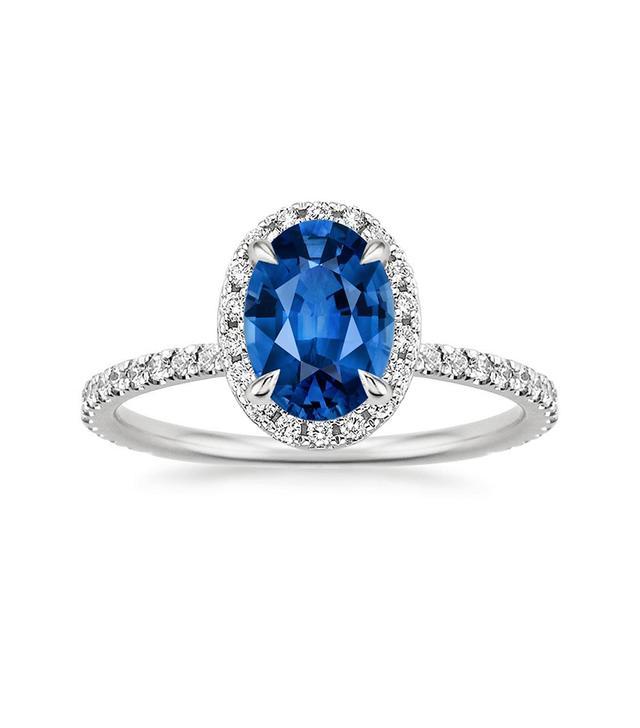 Brilliant Earth Sapphire Waverly Diamond Ring