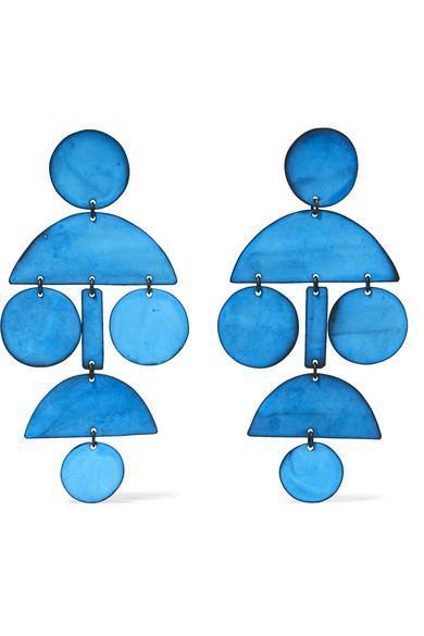 Pompom Oxidized Earrings
