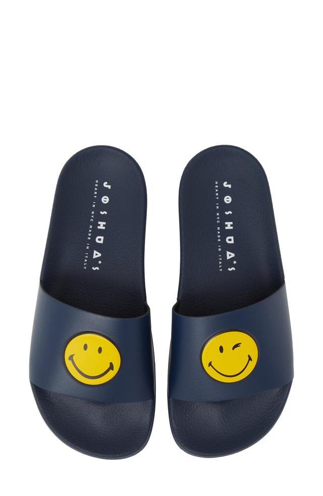 Women's Joshua Sanders Smile Pool Slide Sandal