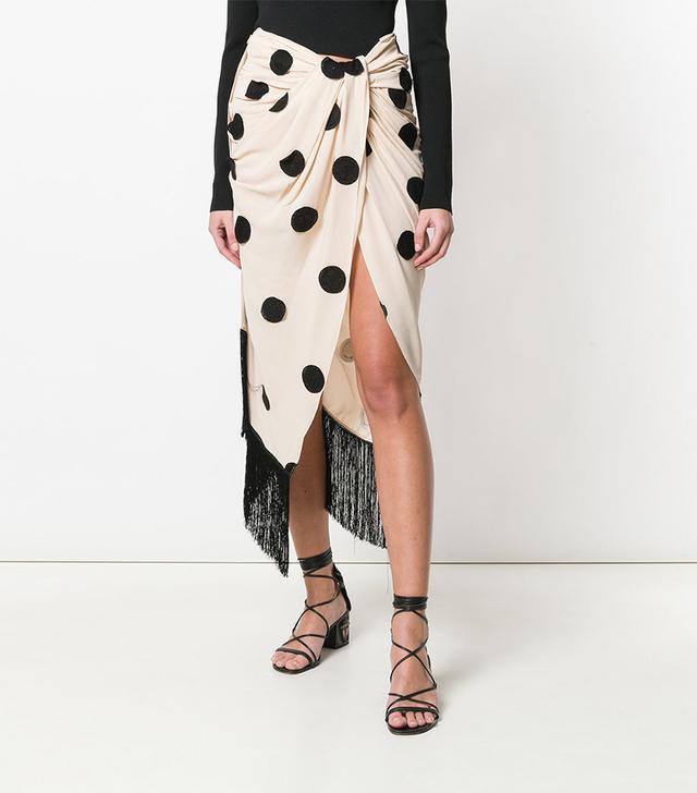 Jacquemus Polka Dotted Skirt