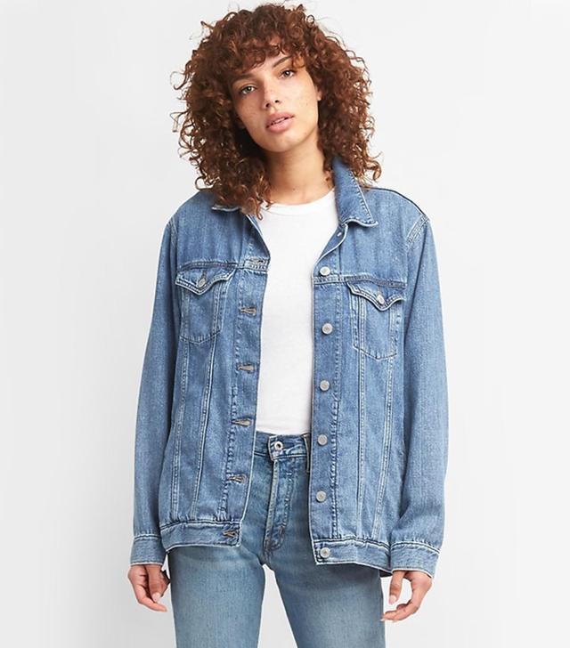 Gap Oversized Icon Denim Jacket