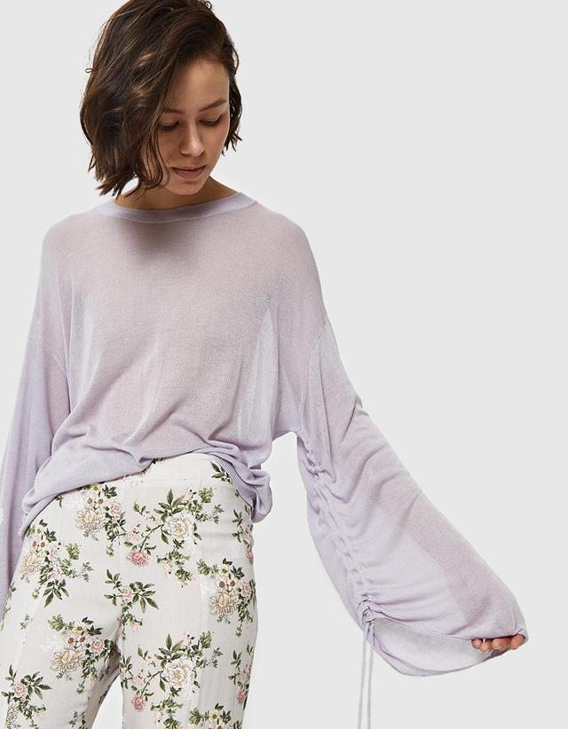 Alexa Sweater in Lavender