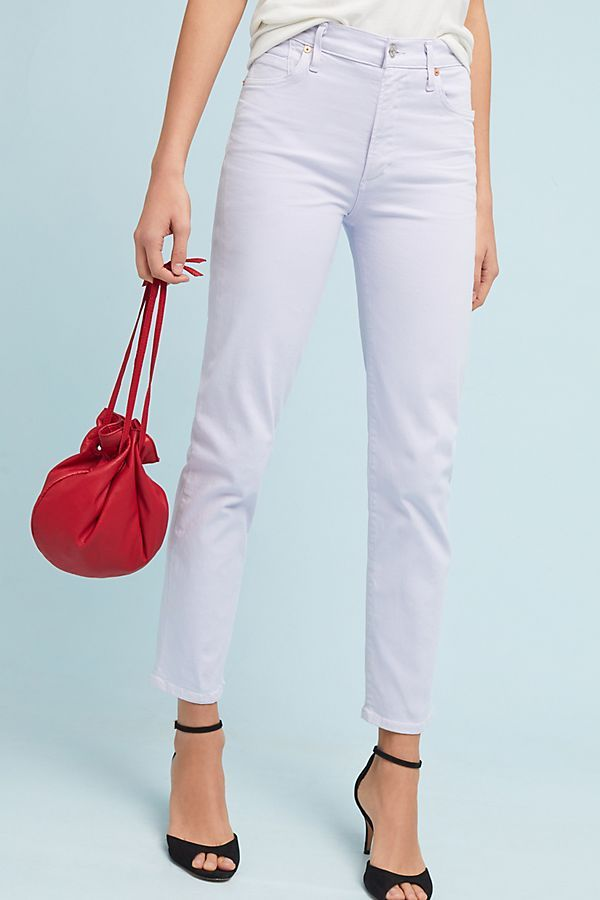 Cara High-Rise Cigarette Ankle Jeans