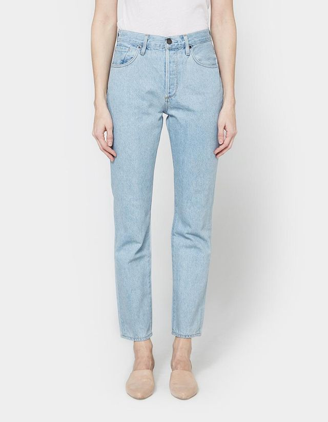 Benefit High Rise Relaxed Straight Jean