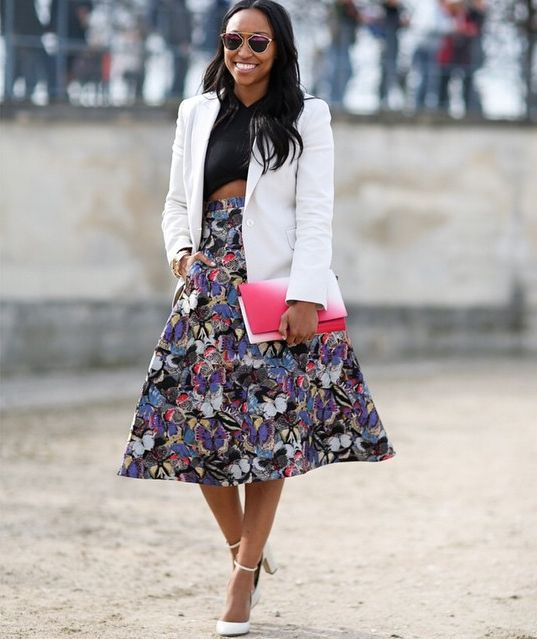 Blazer + Full Skirt for Kentucky Derby