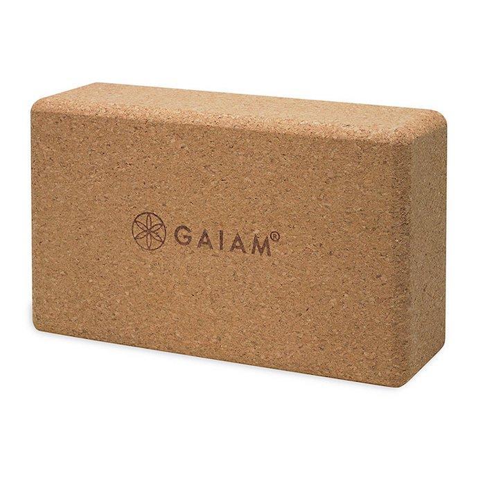 Cork Yoga Block by Gaiam