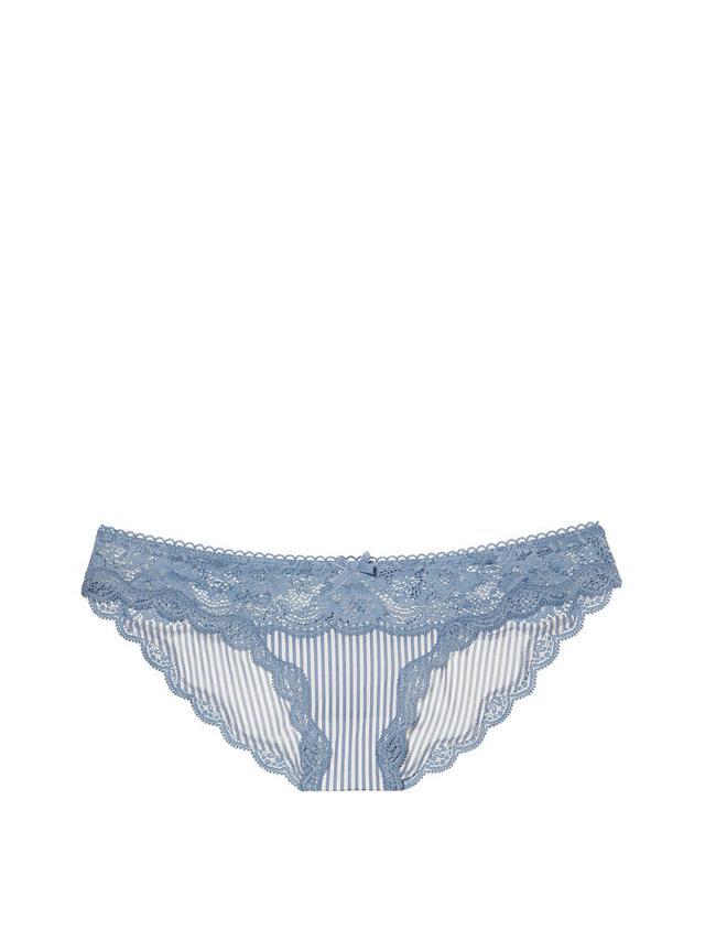Victoria's Secret Floral Lace Cheekini Panty