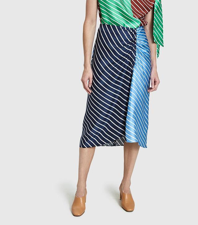 Delphina Stripe Skirt