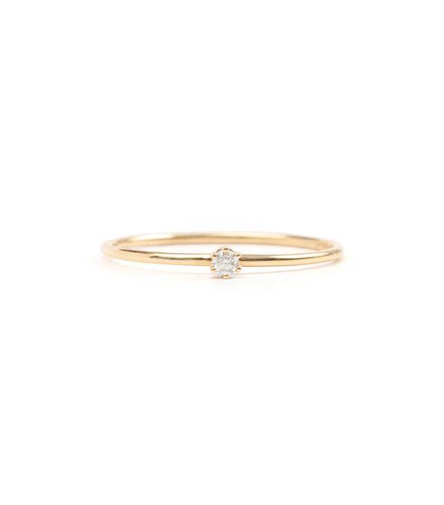 Satomi Kawakita The Tiniest Ring, White Diamond