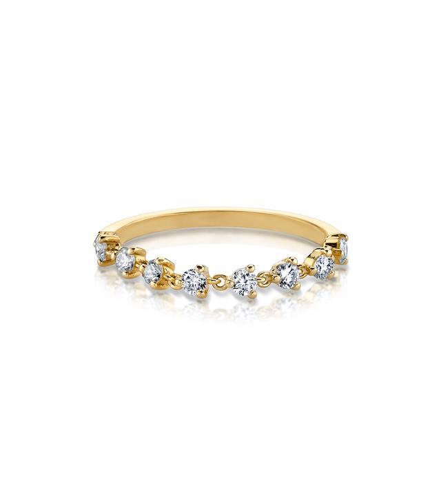 The Last Line Diamond Chain Tennis Ring