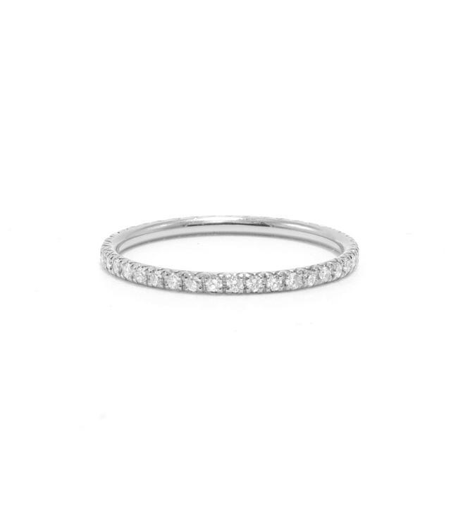Ashley Zhang Diamond Pave Eternity Ring