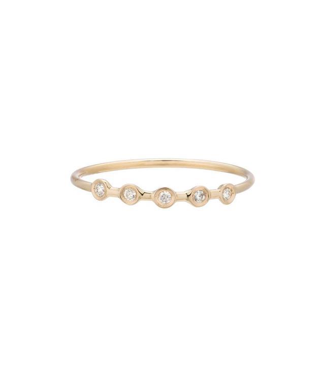 Ariel Gordon Diamond Horizontal Ring