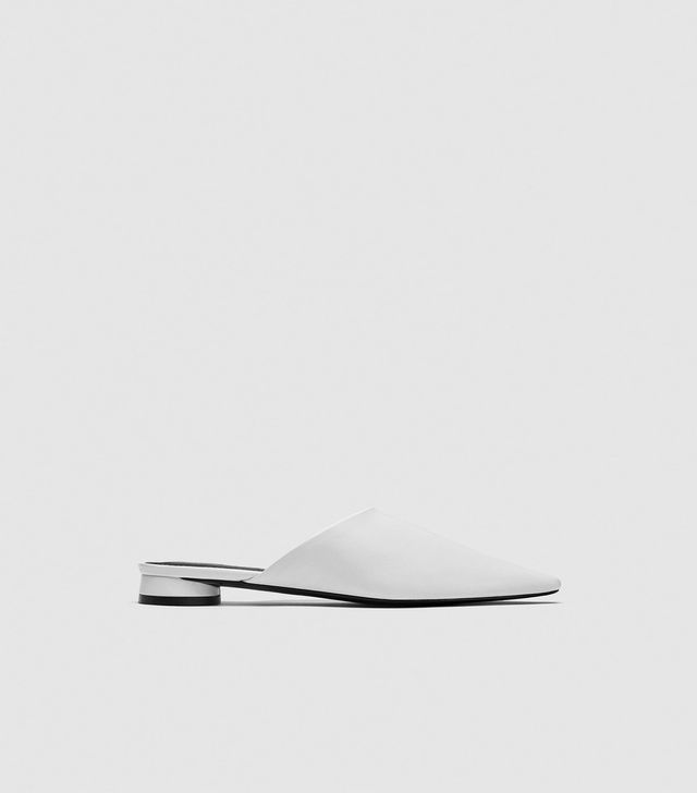 Zara Leather Mules