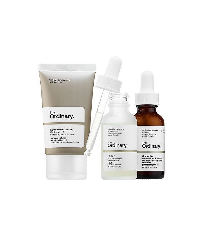 The No-Brainer Set by The Ordinary