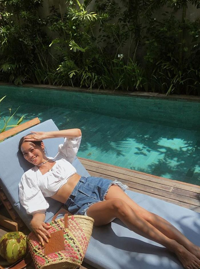 Beachwear trends: milkmaid tops