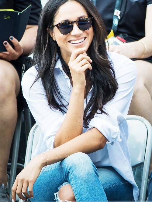 Meghan Markle Jeans: Mother denim jeans at Invictus Games