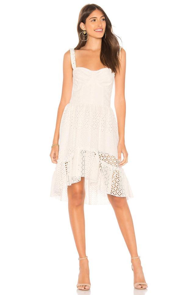 Rosi Eyelet Mini Dress