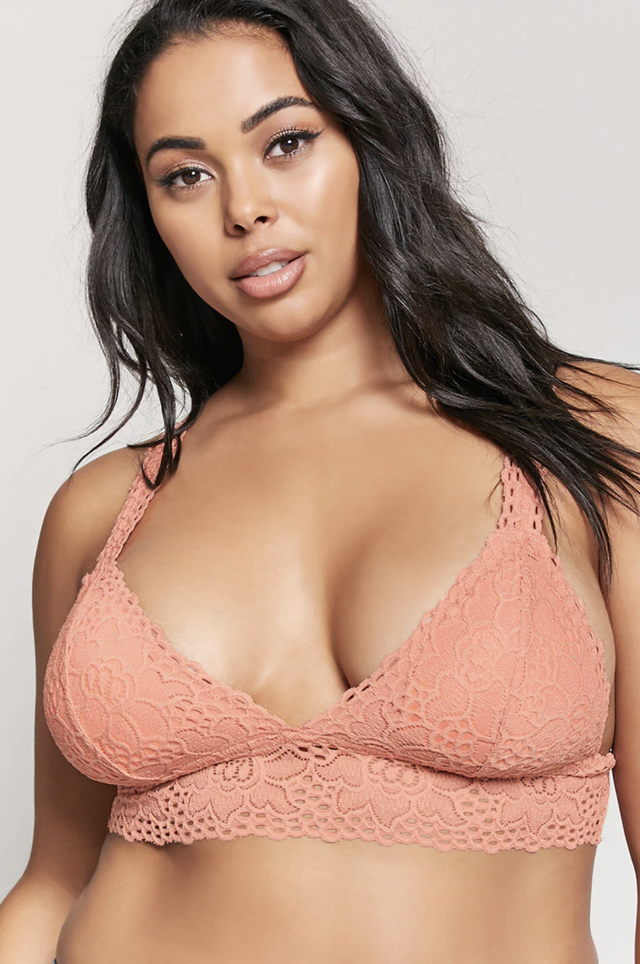 Forever 21 Padded Lace Bralette