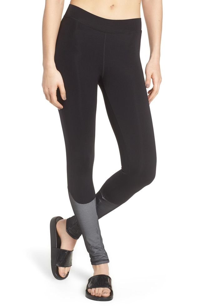 Women's Ivy Park Mesh Panel Leggings