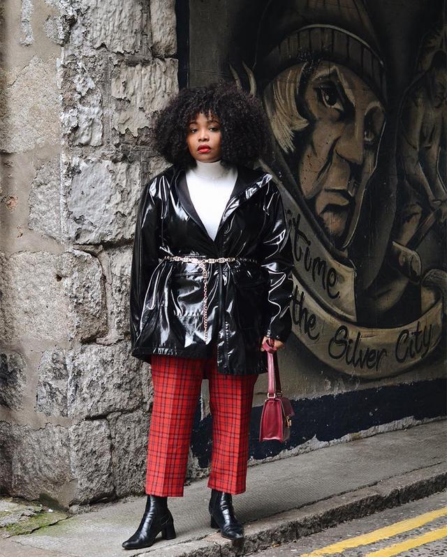Stylish belted jacket outfits