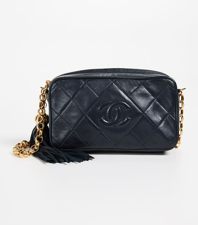 Chanel Lamb Camera Mini Bag