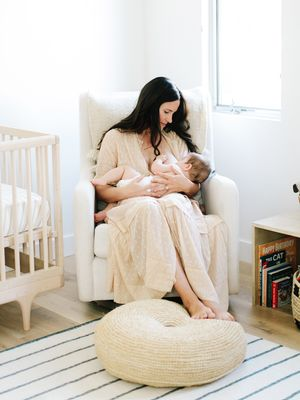 Take a Tour of the Serene Neutral Nursery We Can't Stop Staring At