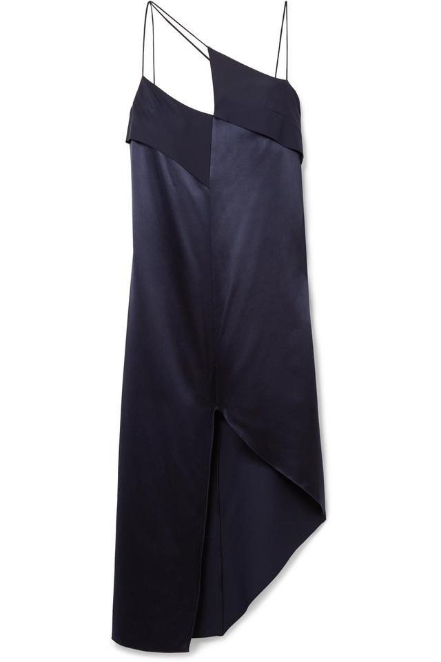 Dion Lee Asymmetric Crepe Dress