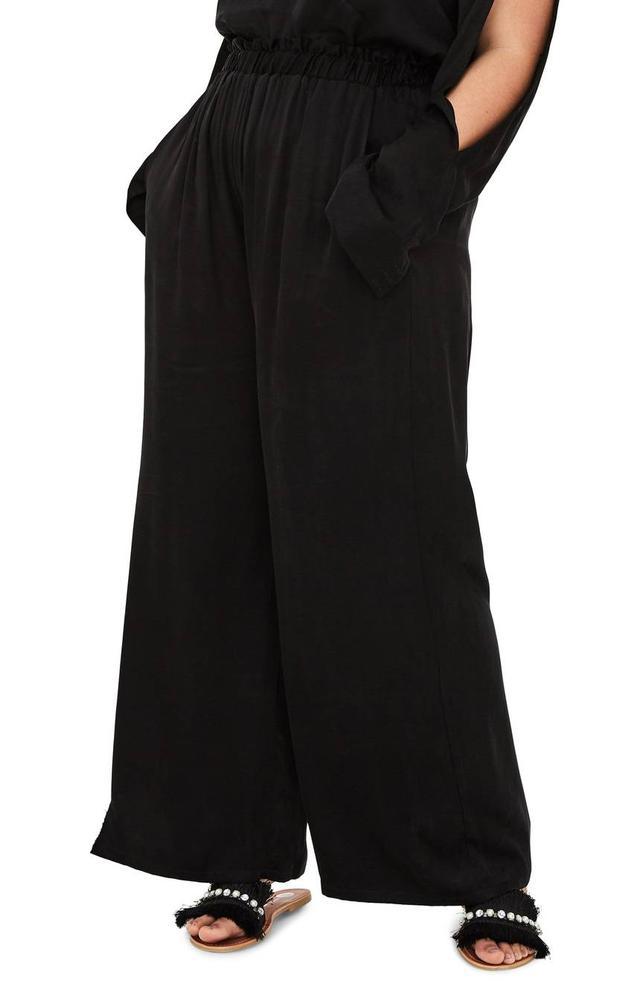 Women's Elvi The Caryat Silk Trousers