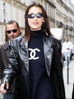"Bella Hadid Just Tried a New Take on the ""No Pants"" Look"