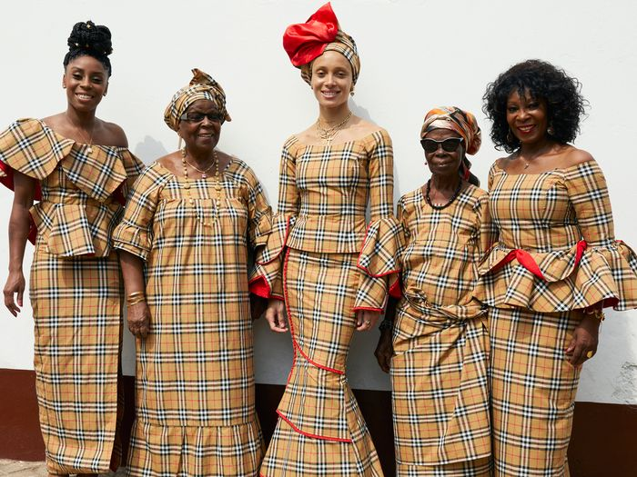 We All Just Fell in Love With Adwoa Aboah's Latest Burberry Shoot