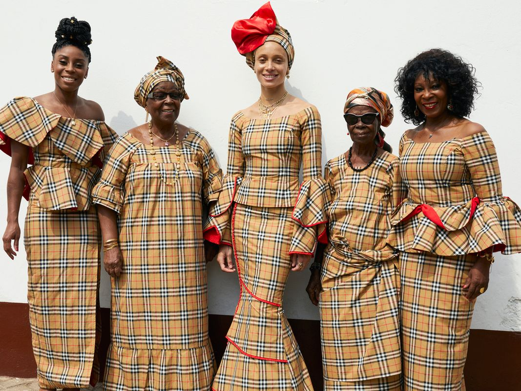 We All Just Fell In Love With Adwoa Aboah s Latest Burberry Shoot