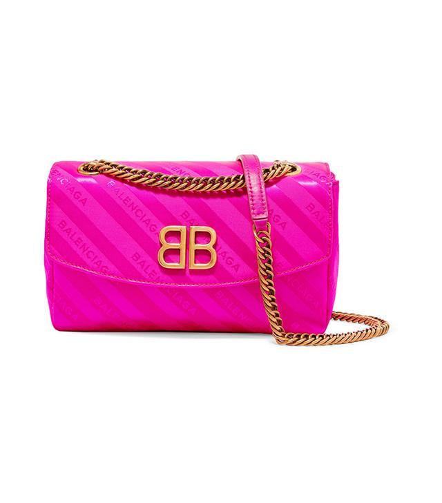 Bb Neon Jacquard Shoulder Bag