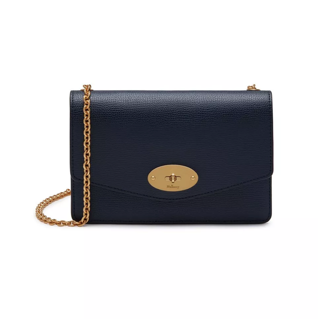 Mulberry Small Darley Bag in Navy
