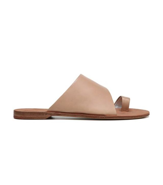 Brittany Cappuccino Toe Ring Sandal