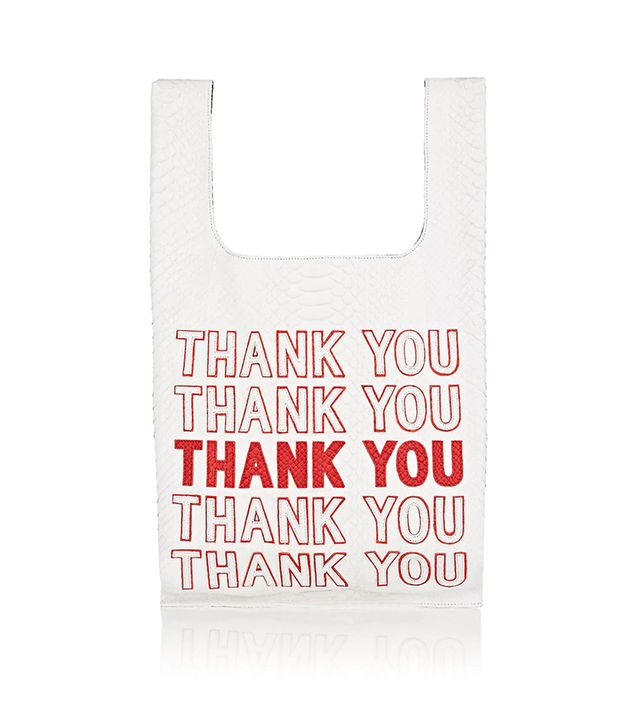 """""""Thank You"""" Python Tote Bag"""