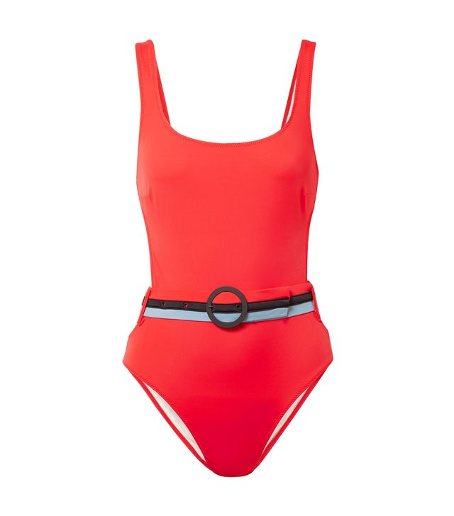 The Joan Belted Cutout Swimsuit