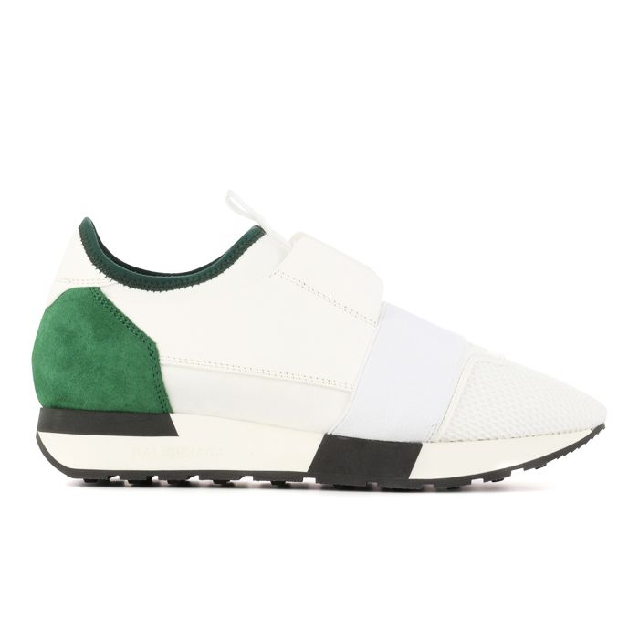 Best white trainers: Balenciaga Race Runner Sneakers